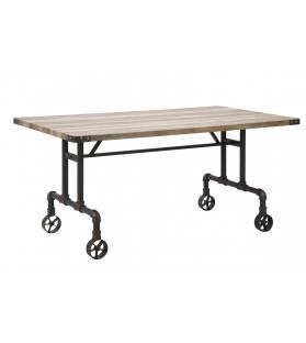 Tavolo da pranzo manhattan cm 160x91,5x76