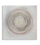 Dipinto su tela circle -a- cm 80x2,8x80