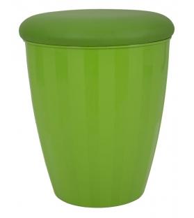 Sgabello contenitore easy verde cm Ø 38x45 (misura interna cm Ø 36x41)