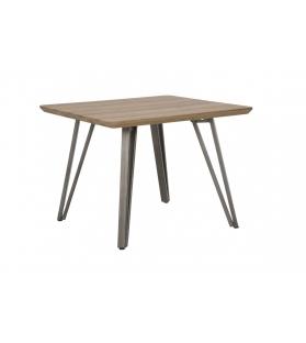 Tavolo da caffe' quadrato arkansas cm 60x60x46