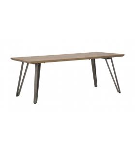 Tavolo da caffe' rettangolare arkansas cm 120x60x45