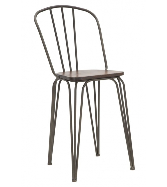 Sedia bar harlem 54x45x102 set 2pz (altezza seduta cm 61)