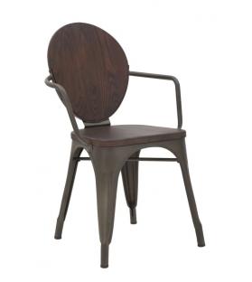 Sedia harlem cm 54x51x83 set 2 pz (altezza seduta cm 43)