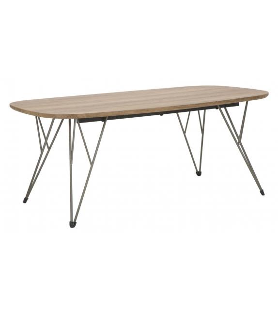Tavolo da caffe' arena rett. Cm 110x60x45