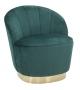 Poltrona sopy verde cm 67x71x70