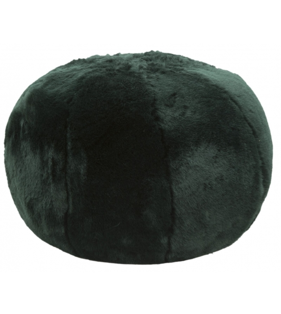 Puff plush verde cm Ø 50x30