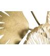 Pannello Decorativo Fiori Iris Oro Cm 78x5,5x101