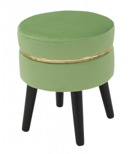 Sgabello paris verde chiaro Ø cm 35x40,5