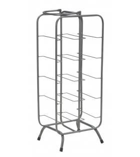 Porta bottiglie rack rett. (10 posti)cm 28x23x67