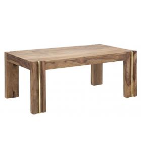Tavolo da caffe' rett. Elegant sheesham cm 109x61x45