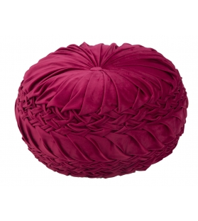 Puff queen glam bordeaux Ø cm 48x25