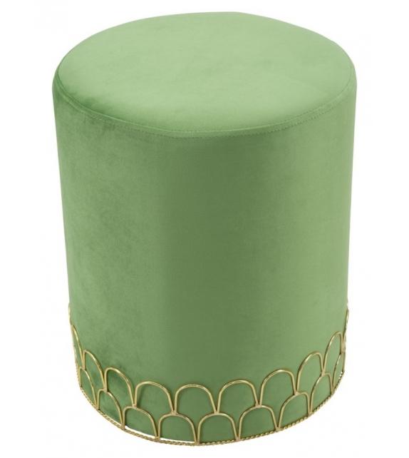 Sgabello ring verde cm Ø 35x42