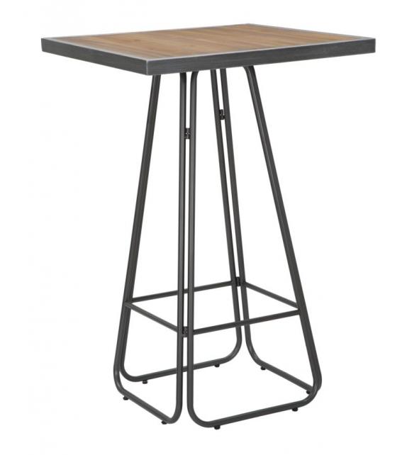 Tavolo bar dublin square cm 70x70x106