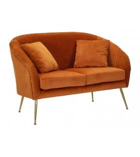Divano budapest arancio cm 120x72x80