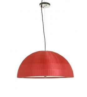 Paralume da soffitto casket rosso Ø cm 80