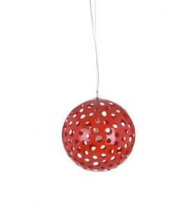 Paralume da soffitto round rosso Ø cm 40