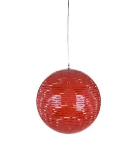 Paralume da soffitto stick rosso Ø cm 50