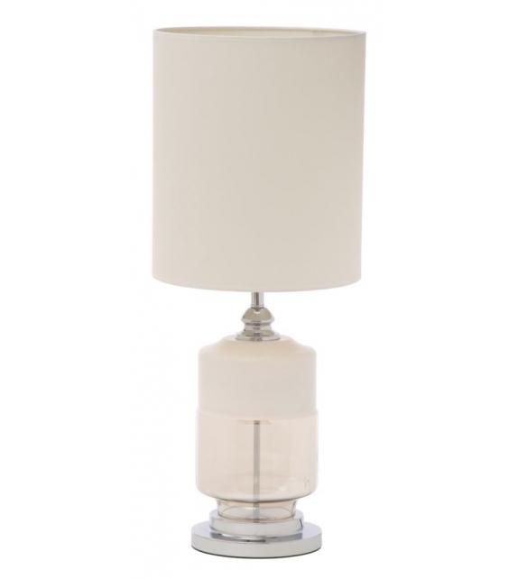 Paralume da tavolo elegant-three bianco cm Ø 30x75