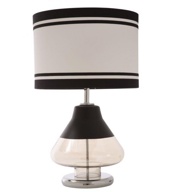 Paralume da tavolo elegant-two nero cm Ø 36x60