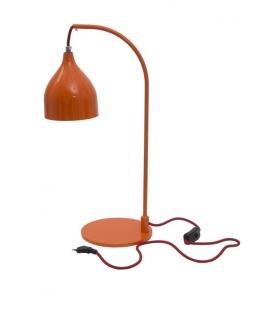 Paralume da tavolo hang arancio Ø cm 13x50