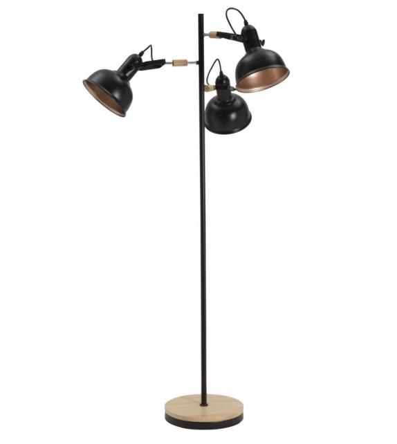 Lampada da terra cups nero cm Ø 75x141,5
