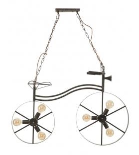 Lampadario bicicletta cm 110x49x69