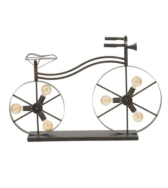 Lampada da terra bicicletta cm 110x49x70