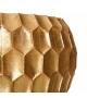 Tavolino Mesa Oro Metallo 85 x 85 x 42 cm