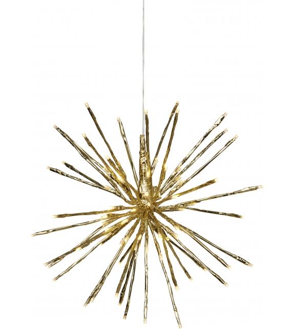 Decorazione Lampada 64 luci LED Stella Fuochi d'Artificio Ø 30cm