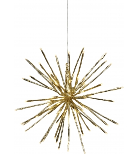 Lampada Decorativa 80 luci LED Stella Fuochi d'Artificio Ø 40cm