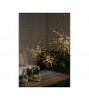 Lampada Decorativa 120 luci LED Stella Fuochi d'Artificio Ø 60cm