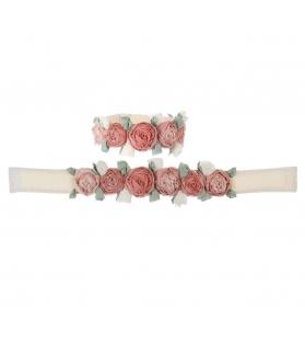 Embrasse con rose