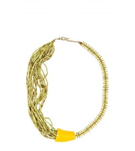 Collana coco yellow