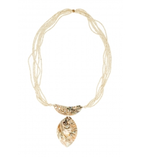 Collana white seashell