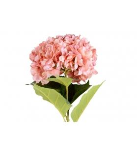 Ortensia rosa con stelo 106cm