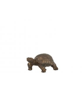Tartaruga deco bronzo 19x12x8,5cm