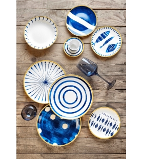 Servizio piatti tavola Bluemarine 18 pezzi porcellana