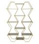 Scaffale Libreria Gold Egypt 120x40x179 cm