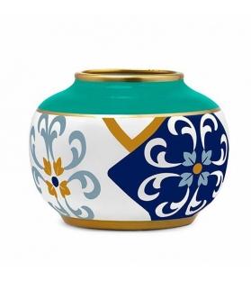 Vaso bombato Alhambra h19 cm