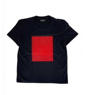 T-shirt Donna Red Panel