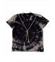 T-shirt Donna Tiedye nera