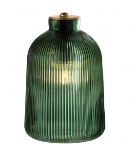 Lampada LED Babs vetro verde h27 cm