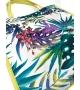 Borsa Shopper White Tropical Altamoda