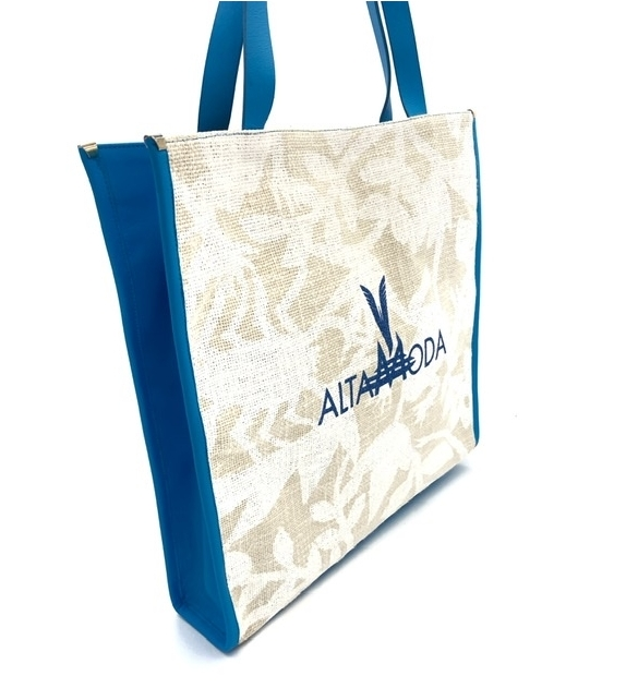 Borsa Shopper White Frog Altamoda