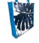 Borsa Shopper Blue Monstera Altamoda