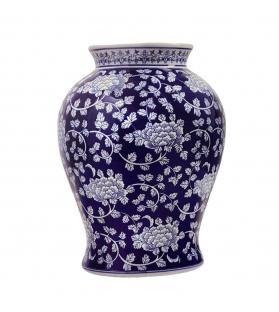 Vaso bombato porcellana Shang h38 cm