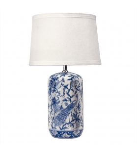 Lampada da tavolo in porcellana Shang h68 cm