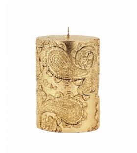 Candela Gold Fay cilindro 10 cm