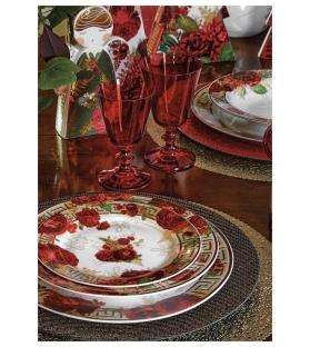 Madame set piatti tavola 18 pezzi porcellana