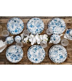 Dragon set piatti tavola 18 pezzi porcellana